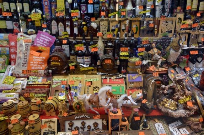 Onde comprar lembrancinhas e souvenirs em Mendoza