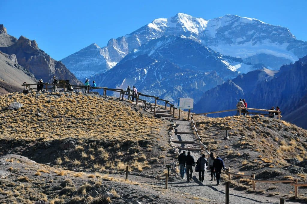 Roteiro de 4 dias em Mendoza: Parque Aconcágua em Mendoza na Argentina