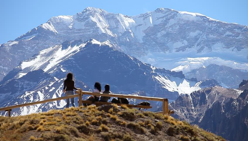 Parque Aconcágua em Mendoza, Argentina
