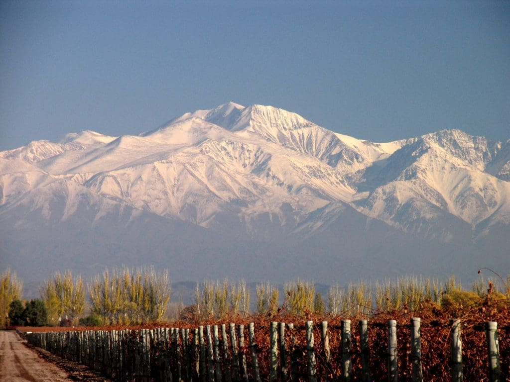 Inverno em Mendoza, na Argentina