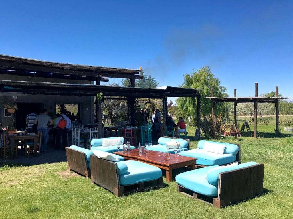 Bodega La Azul no Valle de Uco em Mendoza, Argentina