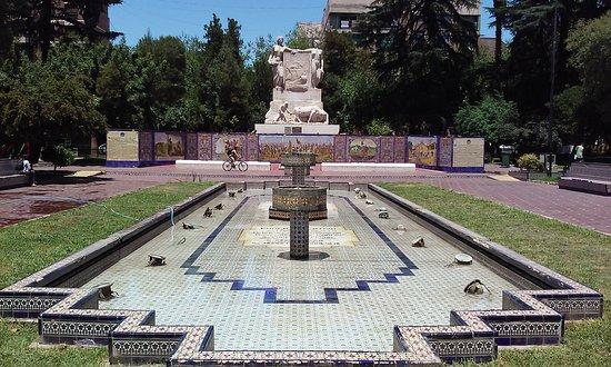 Plaza España em Mendoza