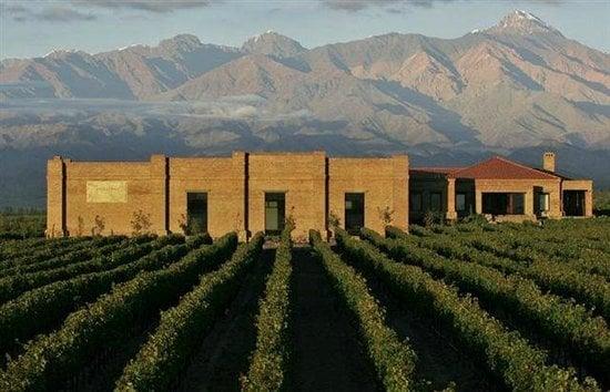 Bodega Andeluna Cellars em Valle de Uco, Mendoza