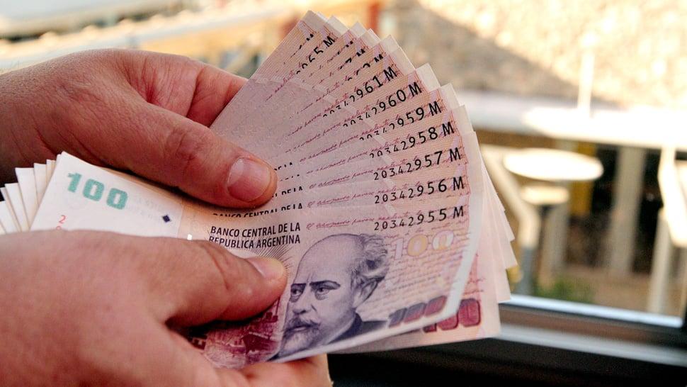 Pesos argentinos em Mendoza