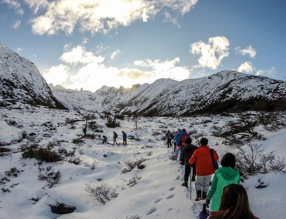 Glaciar Martial em Ushuaia, na Argentina