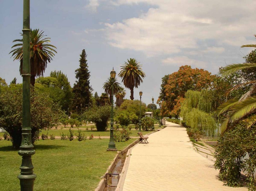 Parque San Martín em Mendoza, Argentina