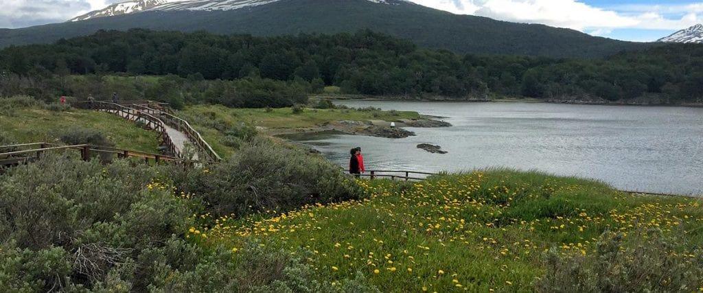 Parque Nacional Tierra del Fuego em Ushuaia, na Argentina