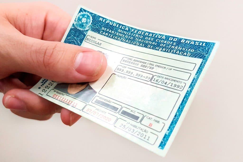 Carteira Nacional de Habilitação Brasileira