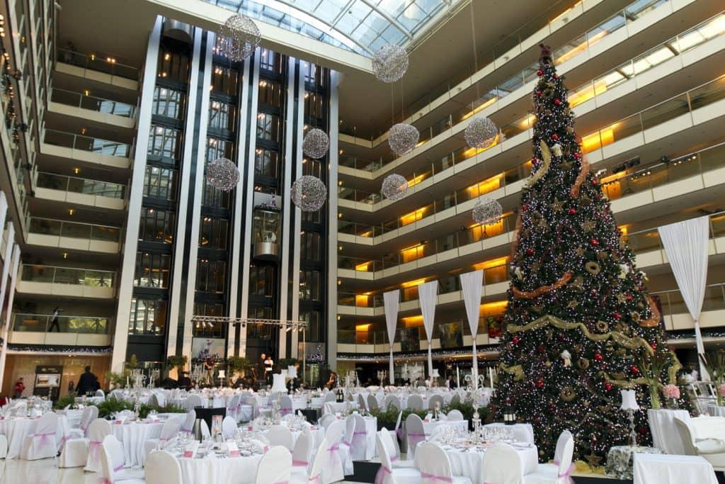 Ano Novo no Hotel Hilton em Buenos Aires