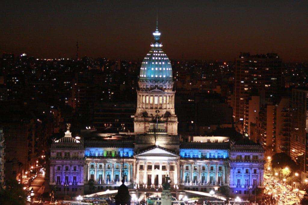 Ano Novo no Palácio Barolo em Buenos Aires