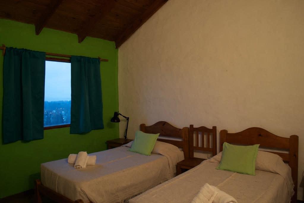 Quarto da Hostería Los Barrancos em El Calafate