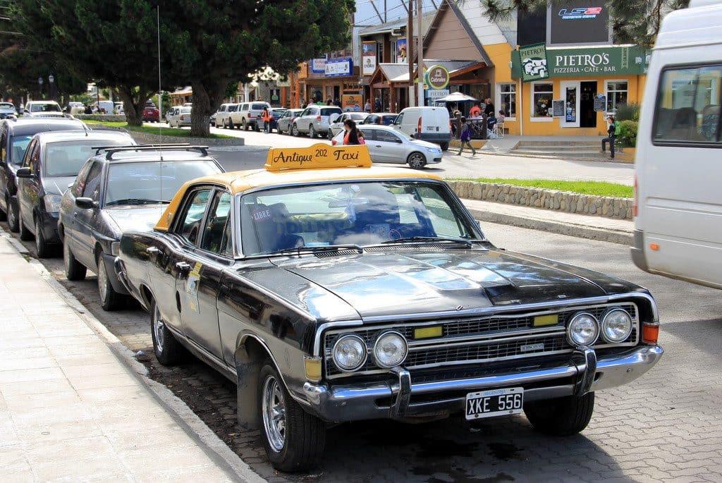 Táxi em El Calafate, Argentina