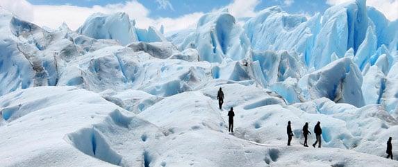 Minitrekking no Perito Moreno em El Calafate