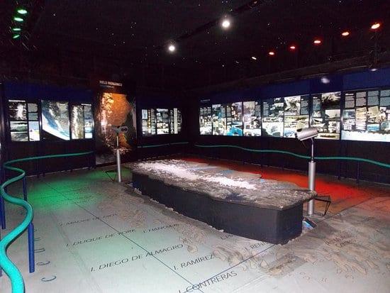 Museu do Glaciarium em El Calafate, Argentina