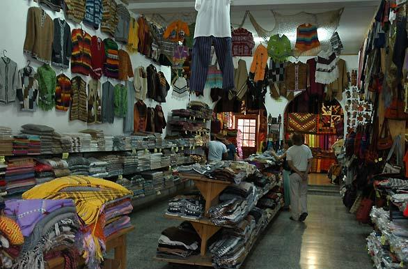 Loja do Mercado de Artesanías em Salta