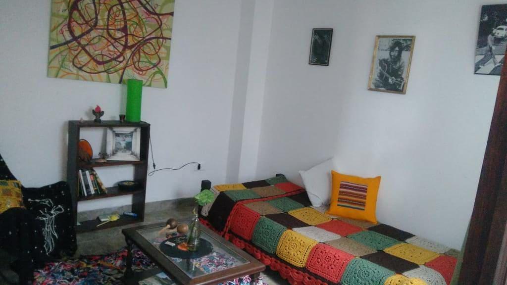Lounge do Hostal Vista a las montañas em Salta