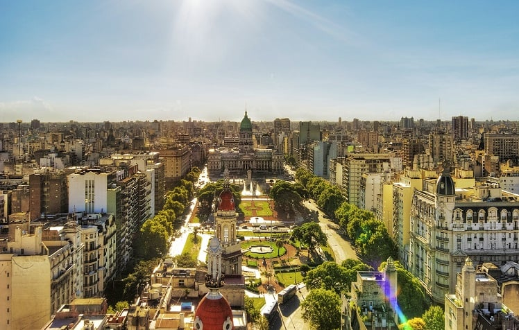 Como achar passagens aéreas baratas pra Argentina