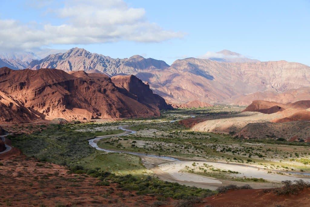 Quebrada das Conchas em Salta, na Argentina