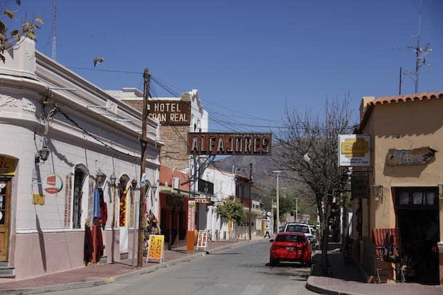 Vila de Cafayate na Argentina