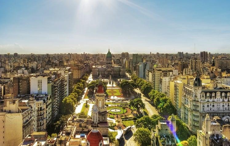 Tempo de avião até Buenos Aires