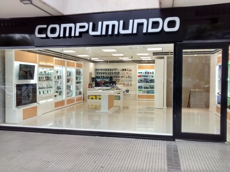 Onde comprar produtos da Apple em Salta: loja Compumundo
