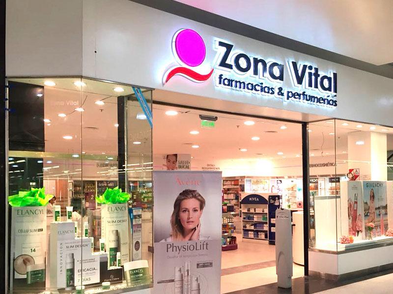 Onde comprar maquiagem em Bariloche: Farmácia Zona Vital