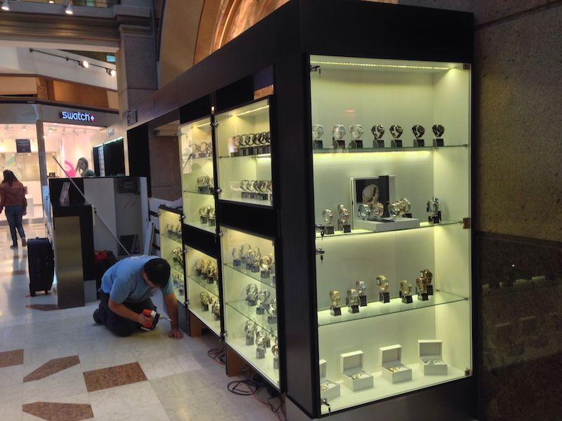 Onde comprar relógios em Buenos Aires: Féraud no shopping Galerías Pacífico