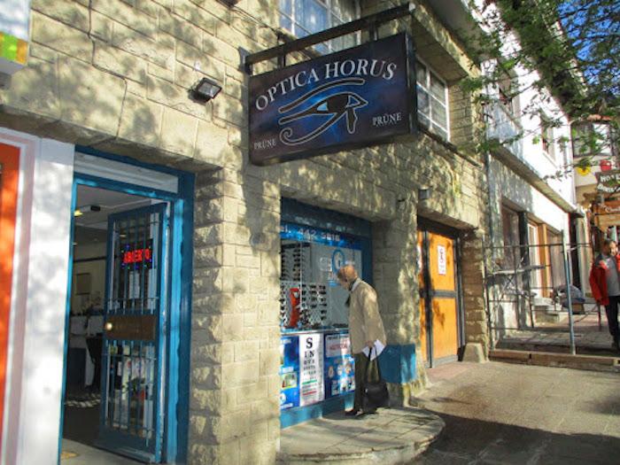 Onde comprar óculos escuros em Bariloche: Óptica Horus