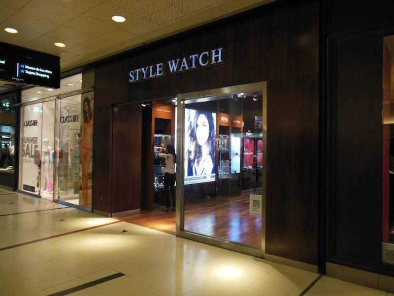 Onde comprar relógios em Buenos Aires: Style Watch no shopping Abasto