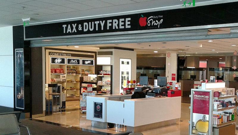 Onde comprar perfumes em Córdoba: Free Shop no Aeroporto de Córdoba